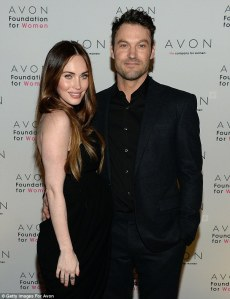 Megan Fox and Brian Austin