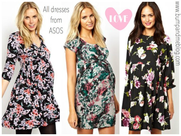 Katie piper at Kiddicare launch wearing floral maternity dress bumpandmeblog